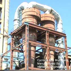 Multi Cyclone Dust Collector High Volume Multi Cyclone